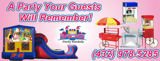 MDG Party Rentals, Supplies & Services