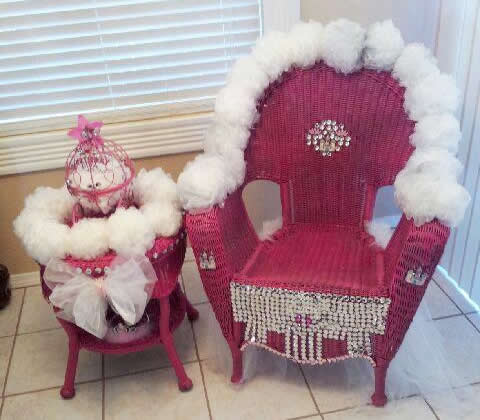 Ziahs Princess Chair