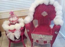 Ziahs Princess Chair